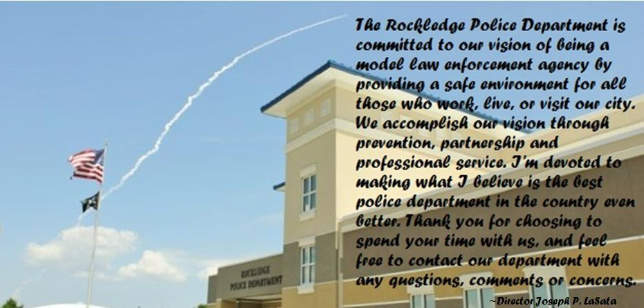 Rockledge Police Department Vision