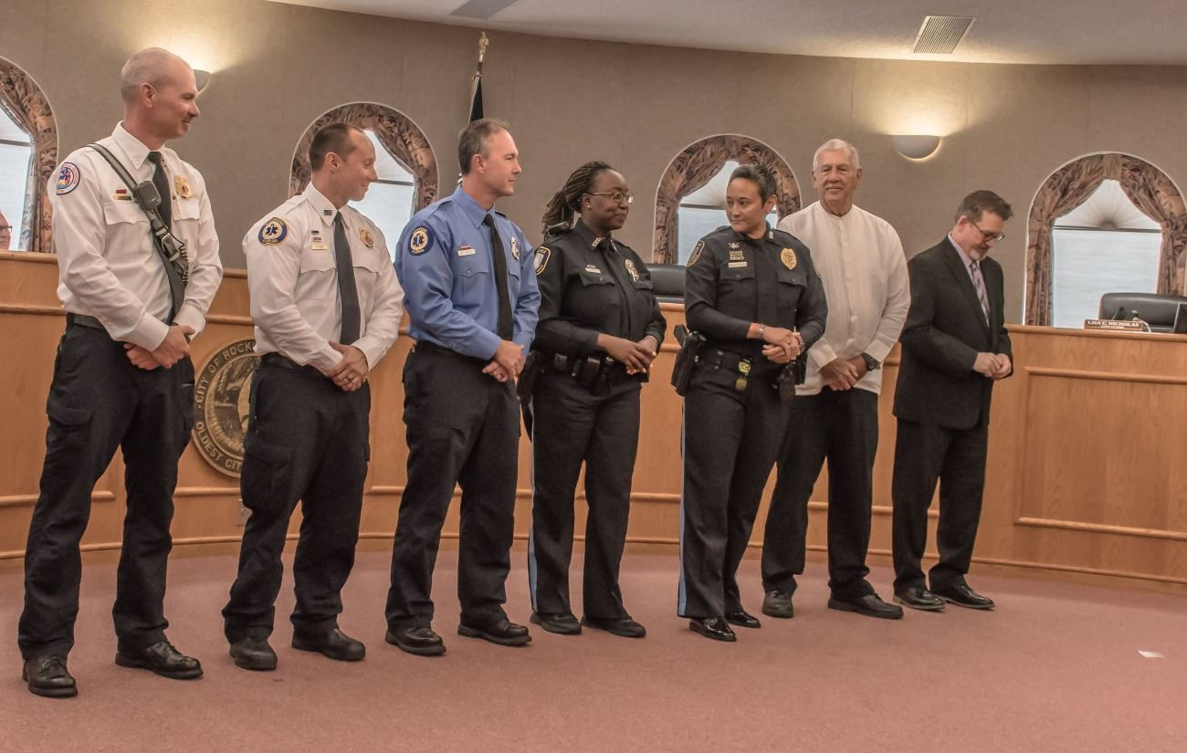 Public Safety Award Recipients