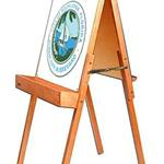 easel and seal 2019
