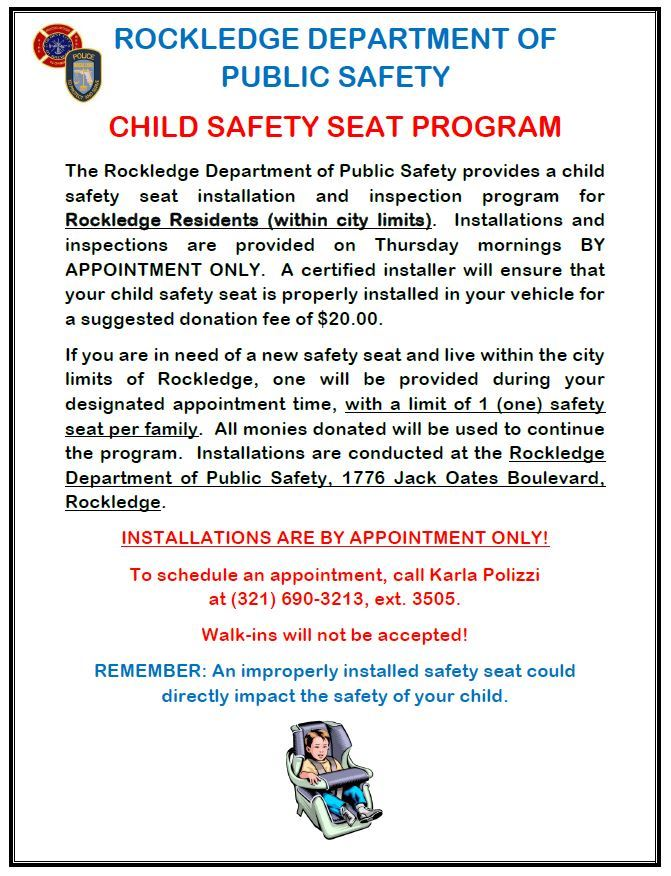 Safety Seat Program