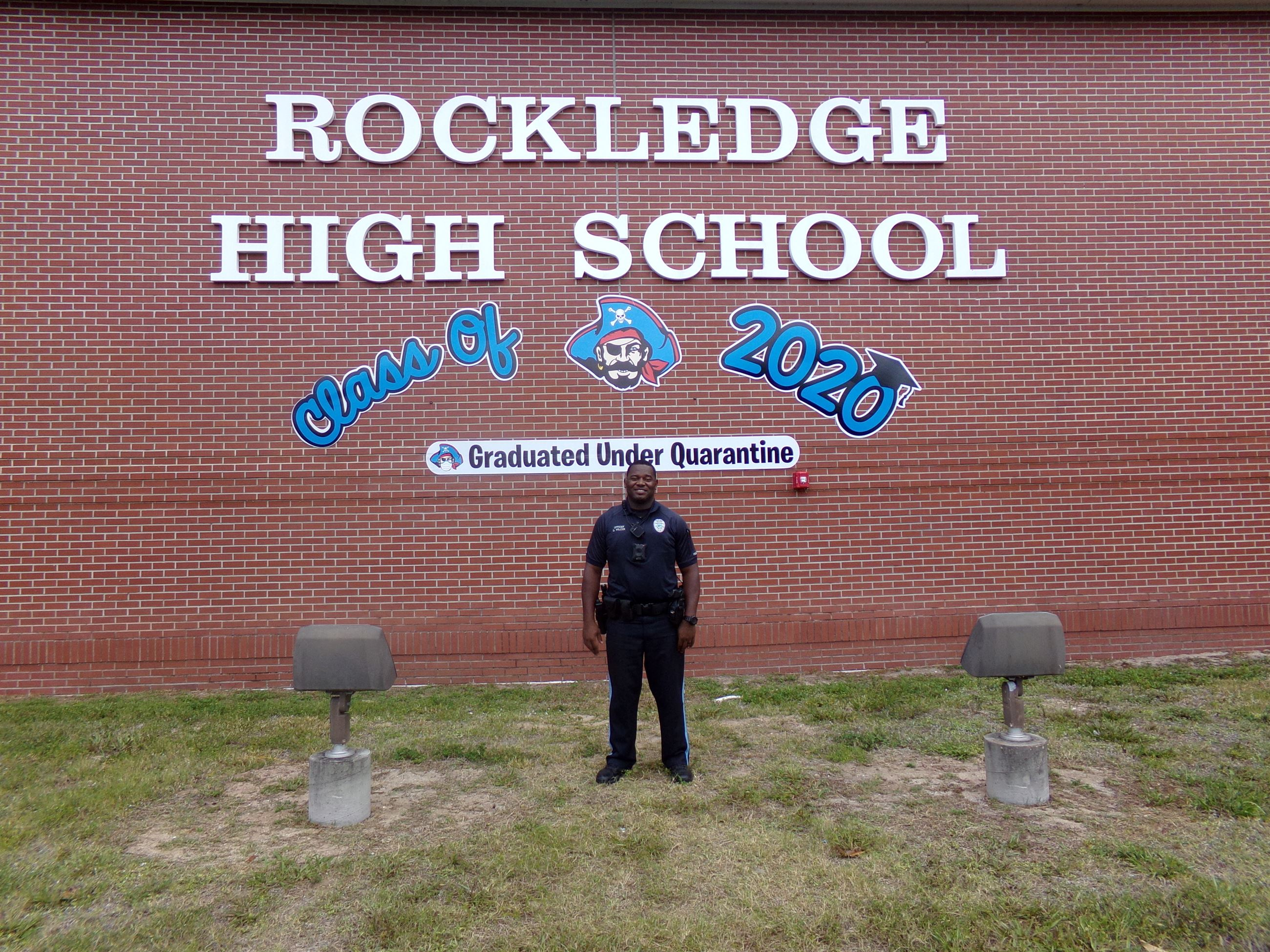 School Resource Officer Dontavius Wilcox