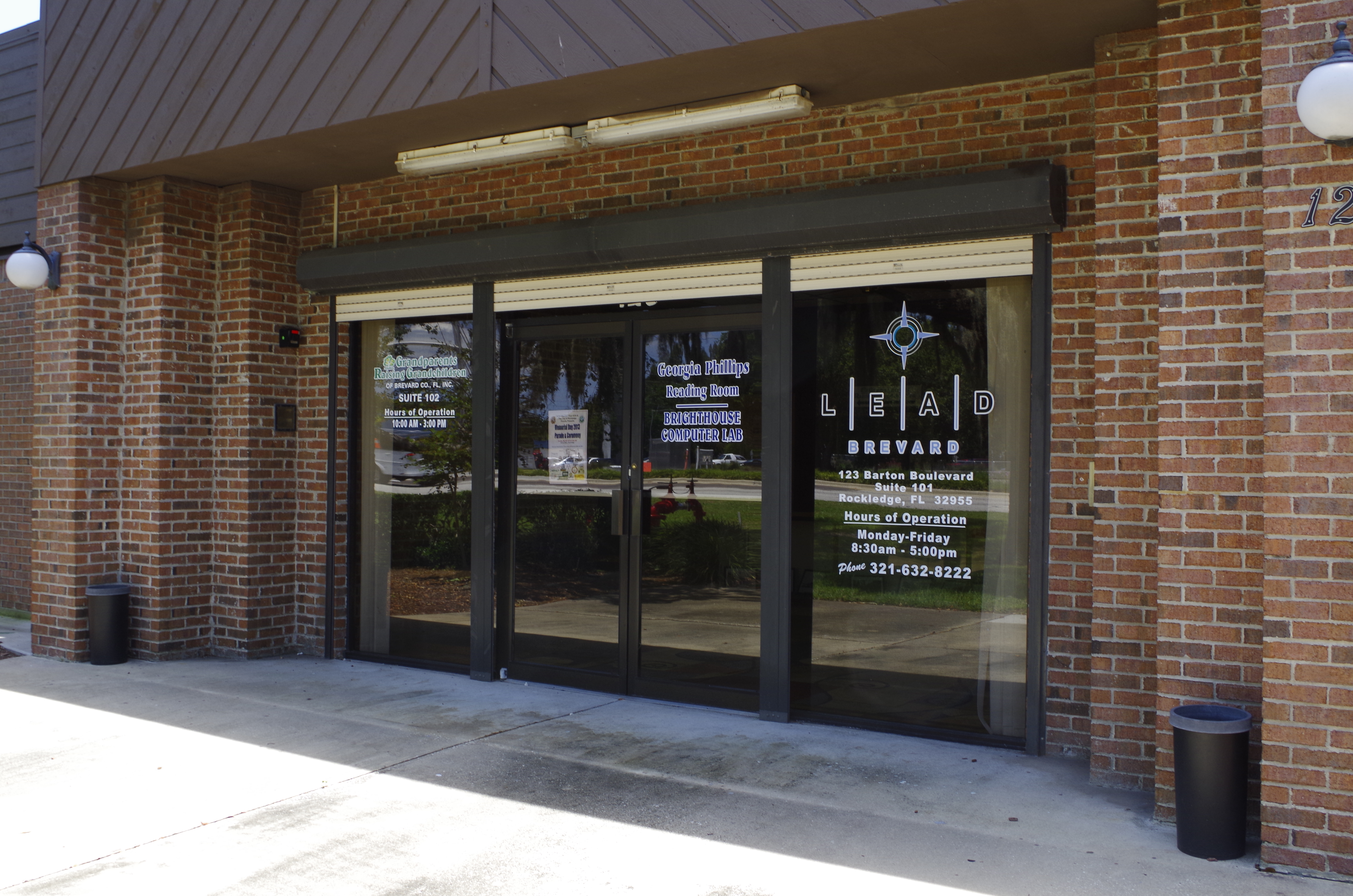 Community Resource Center entrance